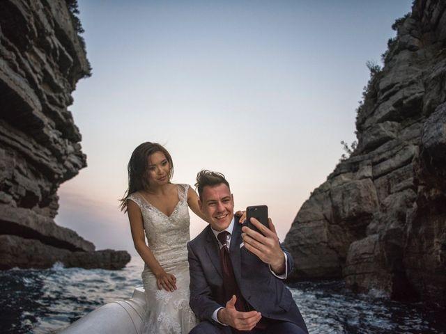 Il matrimonio di Nick e Mani a Positano, Salerno 155