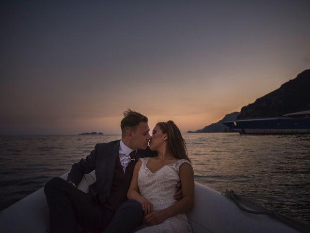 Il matrimonio di Nick e Mani a Positano, Salerno 156