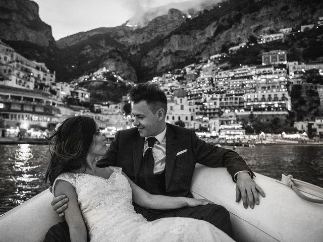 Il matrimonio di Nick e Mani a Positano, Salerno 157