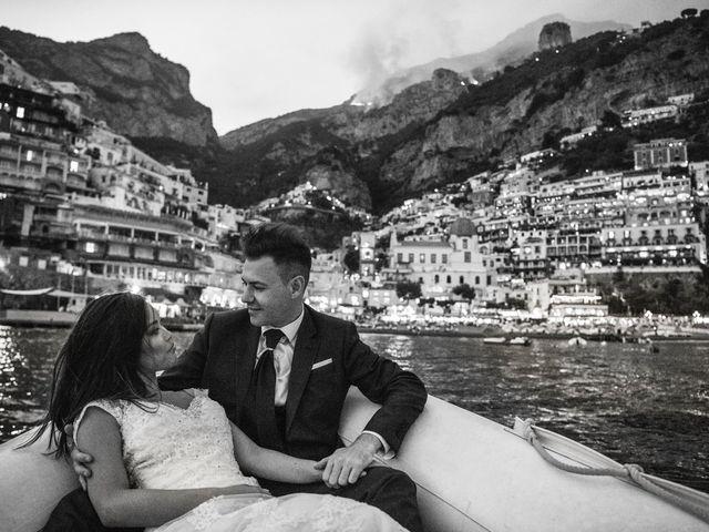 Il matrimonio di Nick e Mani a Positano, Salerno 158