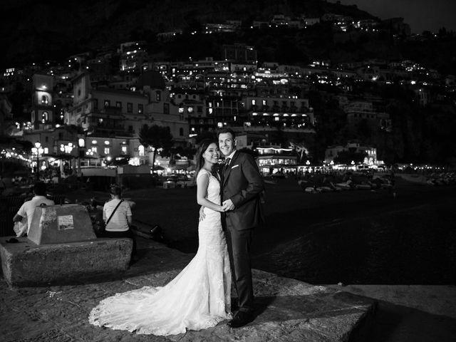 Il matrimonio di Nick e Mani a Positano, Salerno 159