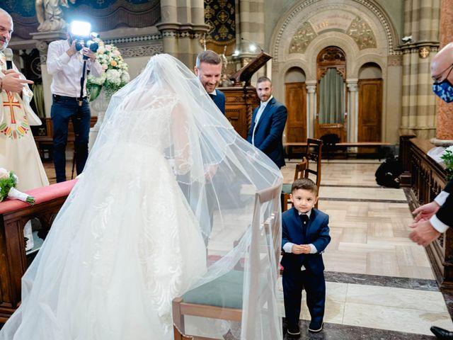 Il matrimonio di Sergio e Francesca a Orbassano, Torino 43