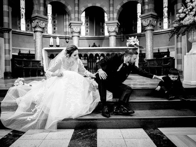 Il matrimonio di Sergio e Francesca a Orbassano, Torino 47