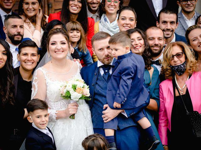 Il matrimonio di Sergio e Francesca a Orbassano, Torino 52