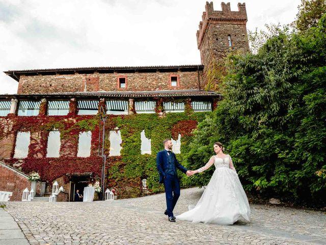 Il matrimonio di Sergio e Francesca a Orbassano, Torino 78
