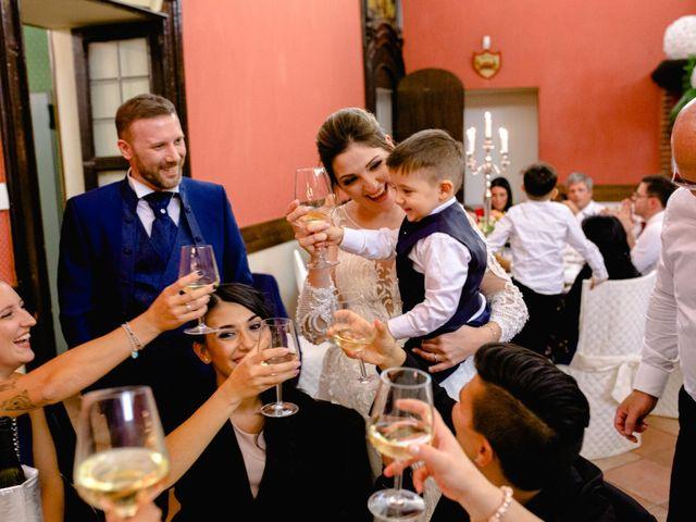 Il matrimonio di Sergio e Francesca a Orbassano, Torino 85