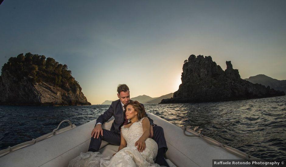Il matrimonio di Nick e Mani a Positano, Salerno