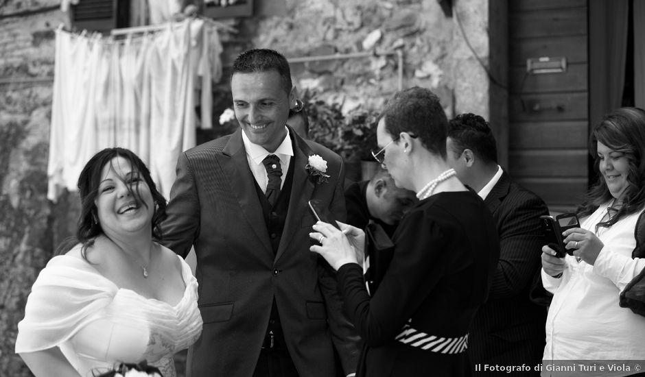 Il matrimonio di Luca e Monia a Monterotondo, Roma
