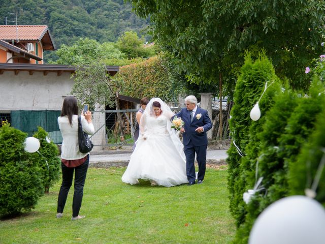 Il matrimonio di Davide e Pamela a Cannobio, Verbania 10