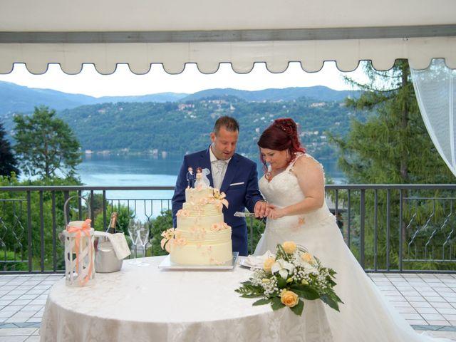 Il matrimonio di Davide e Pamela a Cannobio, Verbania 32