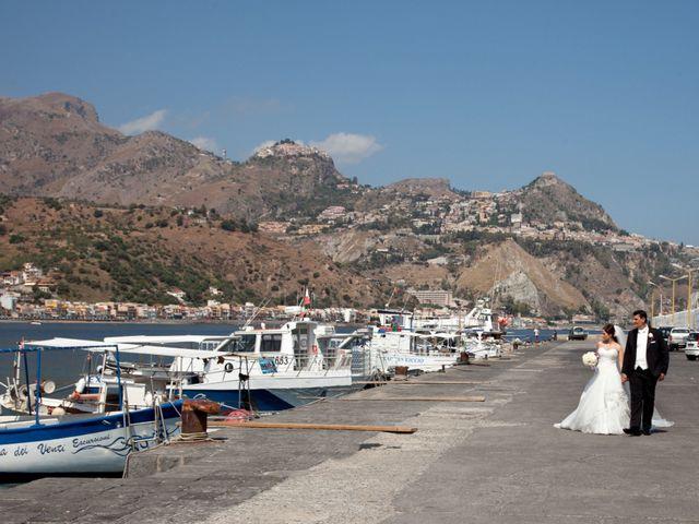 Il matrimonio di Francesco e Arianna a Francavilla di Sicilia, Messina 116