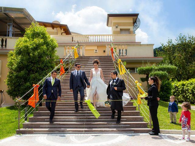 Il matrimonio di Salvatore e Michela a Montoro Superiore, Avellino 23