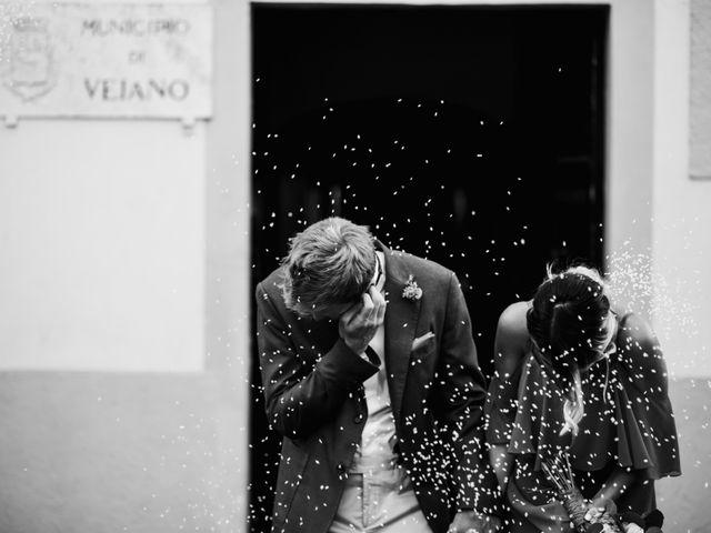 Il matrimonio di Alessandro e Carlotta a Vejano, Viterbo 28