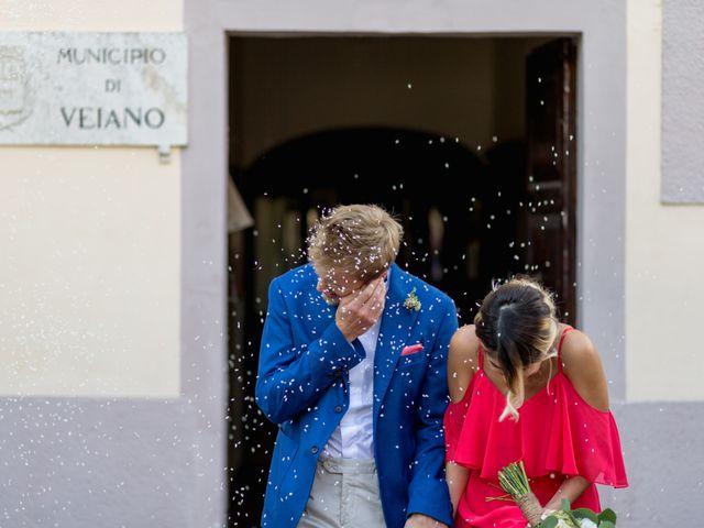 Il matrimonio di Alessandro e Carlotta a Vejano, Viterbo 29