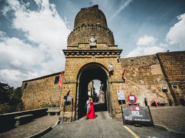 Il matrimonio di Alessandro e Carlotta a Vejano, Viterbo 30
