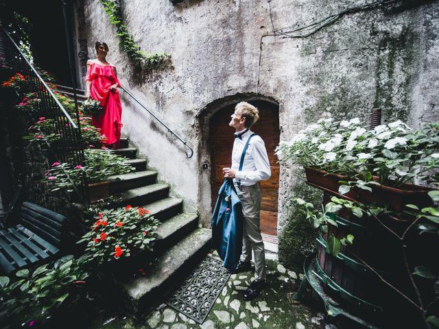 Il matrimonio di Alessandro e Carlotta a Vejano, Viterbo 33
