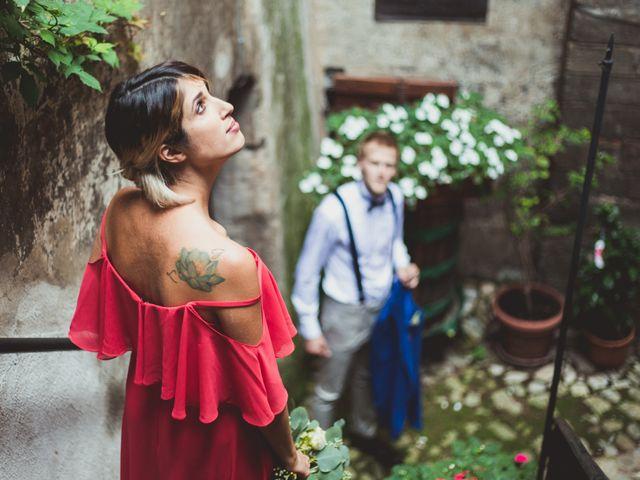 Il matrimonio di Alessandro e Carlotta a Vejano, Viterbo 34