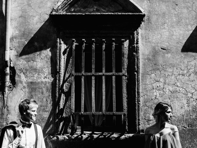 Il matrimonio di Alessandro e Carlotta a Vejano, Viterbo 37