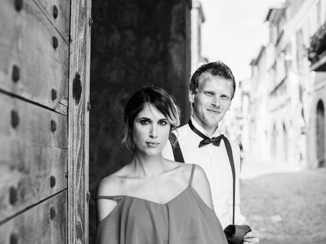 Il matrimonio di Alessandro e Carlotta a Vejano, Viterbo 40
