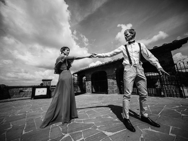 Il matrimonio di Alessandro e Carlotta a Vejano, Viterbo 41
