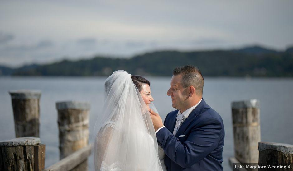 Il matrimonio di Davide e Pamela a Cannobio, Verbania