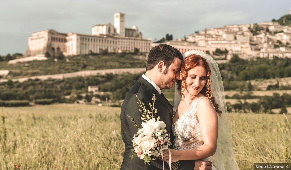 Il matrimonio di Francesco e Marica a Torgiano, Perugia