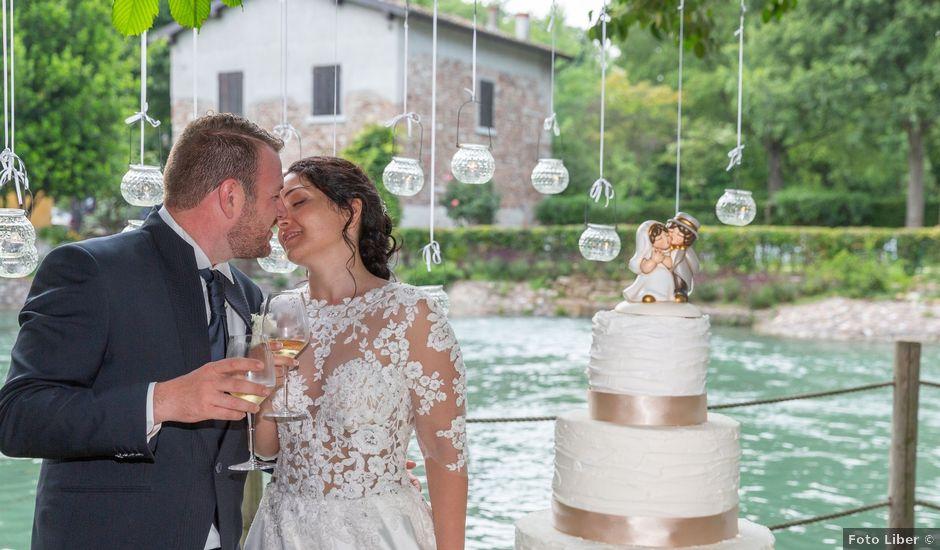 Il matrimonio di Enrico e Stefania a Castelnuovo del Garda, Verona