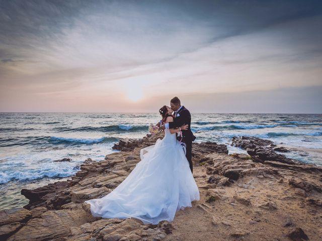 le nozze di Martina e Enrico