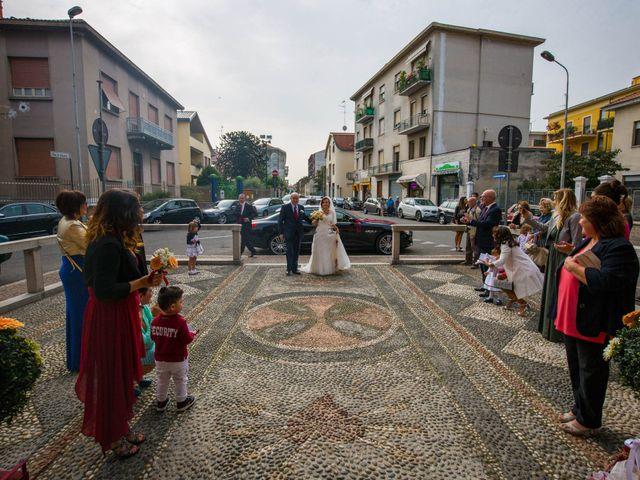 Il matrimonio di Davide e Lucia a Vigevano, Pavia 50