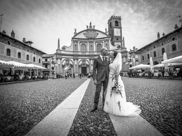 Il matrimonio di Davide e Lucia a Vigevano, Pavia 62