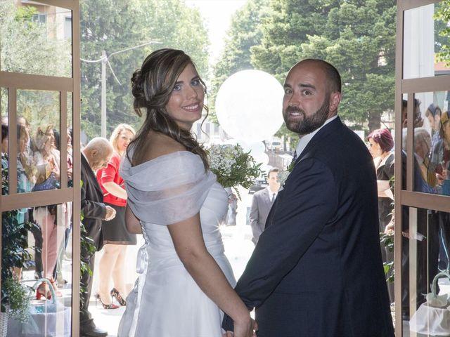 Il matrimonio di Silvio e Sara a Saronno, Varese 14