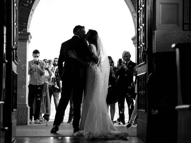 Il matrimonio di Gianluca e Mara a Villongo, Bergamo 104