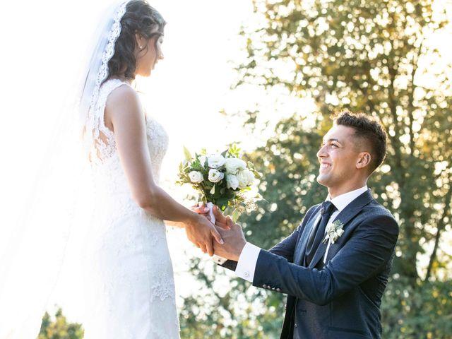 Il matrimonio di Gianluca e Mara a Villongo, Bergamo 143