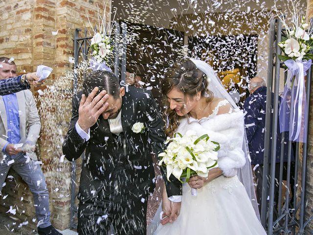 Il matrimonio di Andrea e Chiara a Ripatransone, Ascoli Piceno 44