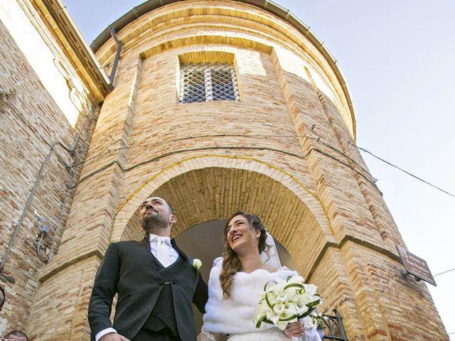 Il matrimonio di Andrea e Chiara a Ripatransone, Ascoli Piceno 45
