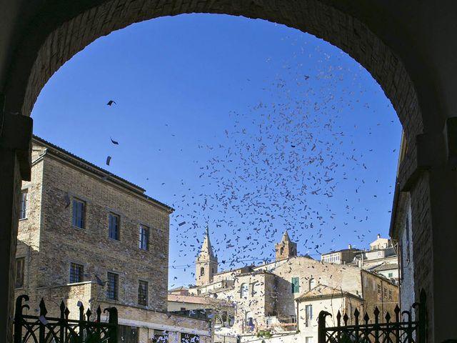 Il matrimonio di Andrea e Chiara a Ripatransone, Ascoli Piceno 46