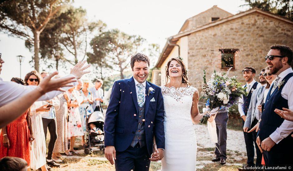 Il matrimonio di Daniel e Claire a Umbertide, Perugia