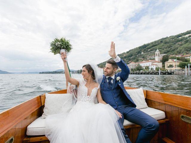 Il matrimonio di Matteo e Milena a Verbania, Verbania 41
