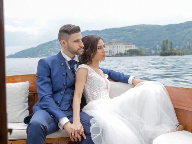 Il matrimonio di Matteo e Milena a Verbania, Verbania 51