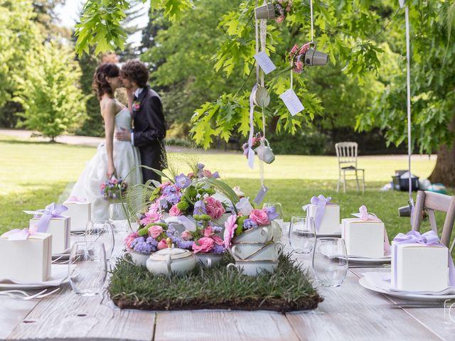 Il matrimonio di Flavio e Marta a Varese, Varese 40