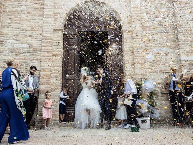 Il matrimonio di Matteo e Milena a Loro Piceno, Macerata 8