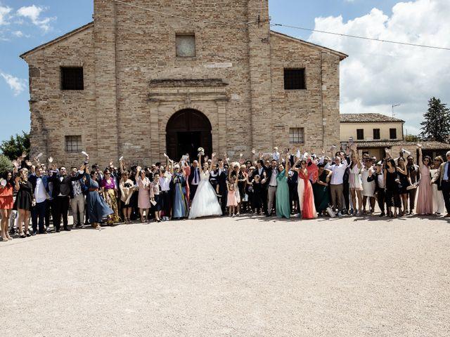 Il matrimonio di Matteo e Milena a Loro Piceno, Macerata 46