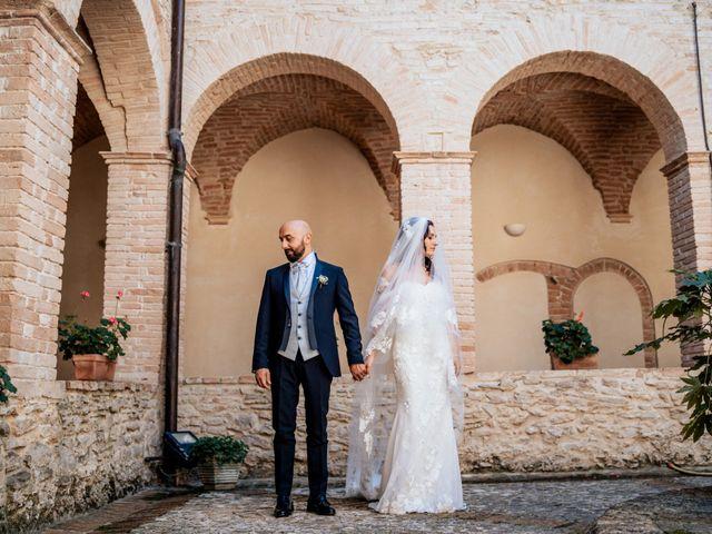 Il matrimonio di Oana e Amedeo a Orsogna, Chieti 39