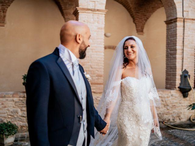 Il matrimonio di Oana e Amedeo a Orsogna, Chieti 40
