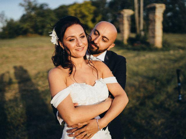 Il matrimonio di Oana e Amedeo a Orsogna, Chieti 53