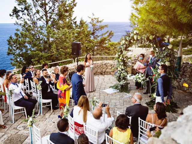 Il matrimonio di Attila e Federica a Gagliano del Capo, Lecce 22