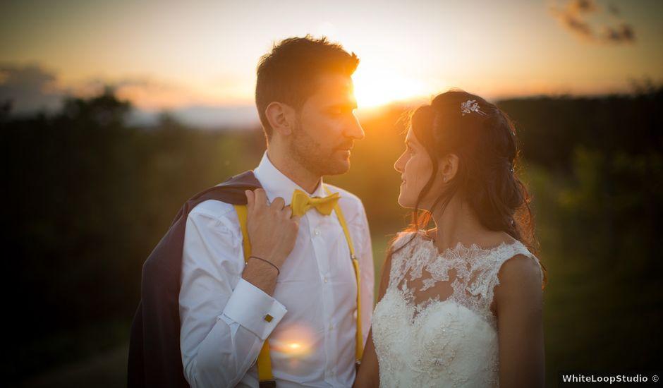 Il matrimonio di Emanuele e Silvia a San Floriano del Collio, Gorizia