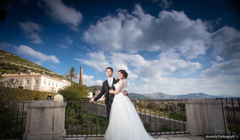 Il matrimonio di Lorenzo e Lucia a Casoria, Napoli