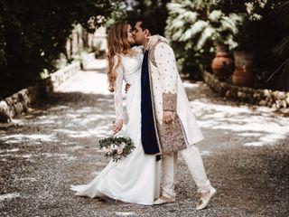 Le nozze di Gabriella e Anshu