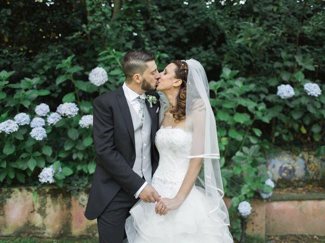 le nozze di Serena e Adriano